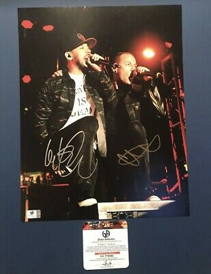 Linkin Park (Chester And Shinoda) Signed 11x14 With COA