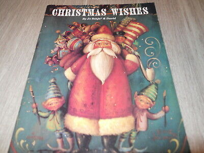 CHRISTMAS WISHES - Tole Painting Book - JO SONJA & David