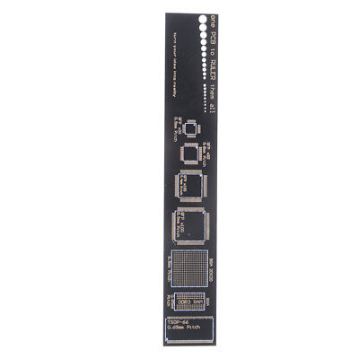 15cm Multifunctional PCB Ruler Measuring Tool Resistor Capacitor Chip IC SMD 9H