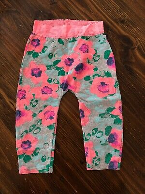 Baby bonds pink Sold Out Floral leggings Lace band, 12-18m Excellent Condition