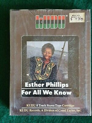 ESTHER PHILLIPS For All We Know  New 8 Track sealed FUNK SOUL