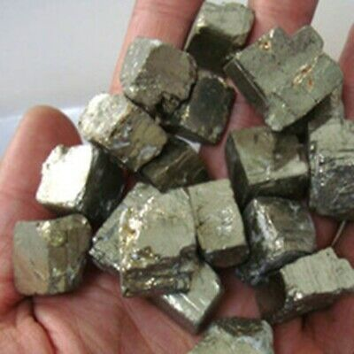 100g Iron Pyrite Rough Chunky Nuggets 20mm-40mm Mineral Crystal Rock Stone