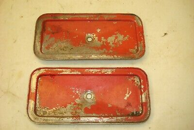 1941 Ford 9n Tractor Side Engine Inspection Plates Covers 2n 8n