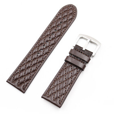 26mm Genuine leather Watch Band FOR INVICTA RESERVE COLLECTION VENOM 6110
