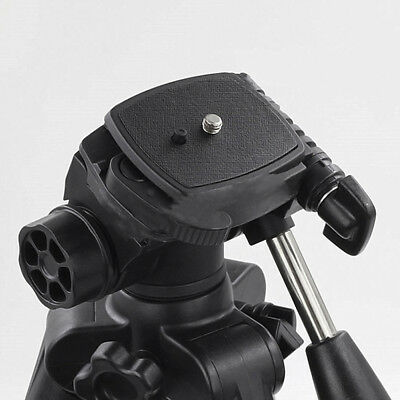 Quick Release QR Plate For DSLR SLR Digital Camera Tripod Screw Mount Adapter