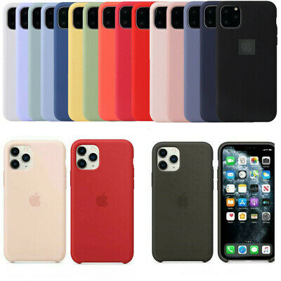 Case for Apple iPhone 11 Pro Max X XR Original Genuine Hard Silicone Phone Cover
