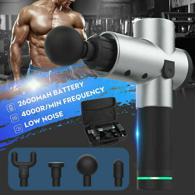 Hand-Held Professional Muscle Massage Gun For Deep Body Vibration Tissue Therapy