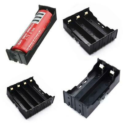 3.7V DIY Rechargeable Battery Storage Case Plastic 1/2/3/4PCS 18650 Box Holder