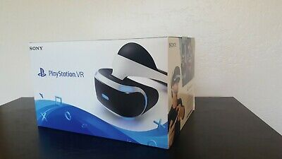 Sony PlayStation VR Headset + Camera + Remote + Games - (Used Once) Bargain