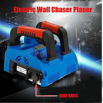 220V Electric Wall Chaser Planer Groove Cutting Machine Wall Slotting Machine