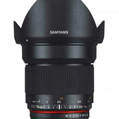 Samyang 16mm f2 ED AS UMC CS Lens - Canon M mount Fit
