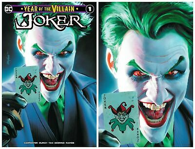 Batman Joker Year Of The Villain Variant Cover Set Of 3 Mayhew Presale