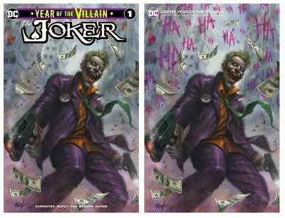 Batman Joker Year Of The Villain Variant Cover Parrillo Set Of 2 Presale