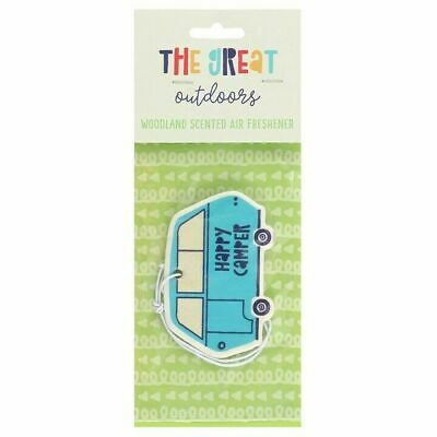 Campervan Shaped Woodland Scented Air Freshener Car, Home, Office