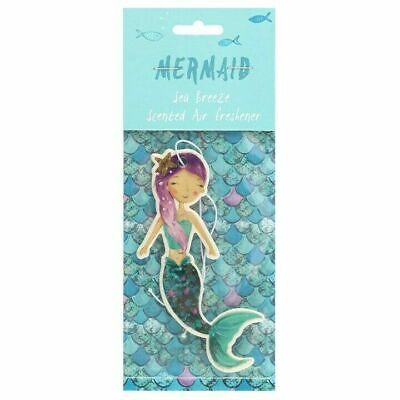 Mermaid Shaped Sea Breeze Scented Air Freshener Car, Home, Office