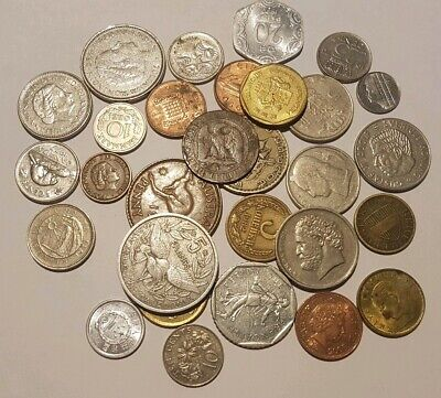 30 Mixed World Coins