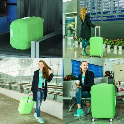 "28"" Protective Luggage Suitcase Dust Cover Protector Elastic Anti Scratch US NEW"