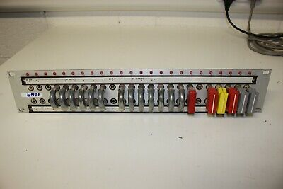 "Ex-BBC 19"" Rack Mount Patch Panel (1249_22F)"