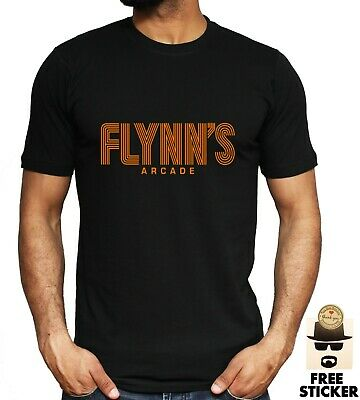 Flynn's Arcade T-shirt Tron Inspired Retro Classic 80's Gaming Film Movie Unisex