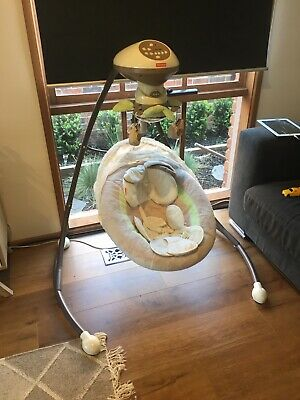 Fisher Price My Little Lamb Cradle and Swing