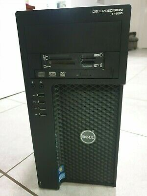Dell Precision T1650 Intel Xeon E3-1220 3.10Ghz 16Gb RAM 256Gb SSD Quadro K600
