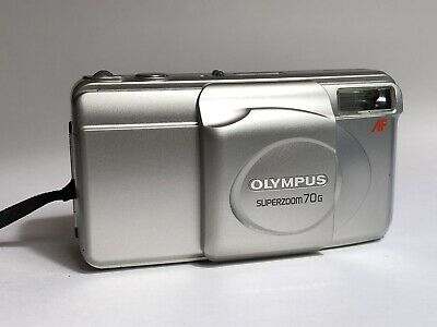 Olympus Superzoom 70s Retro 35mm Point And Shoot Film Camera