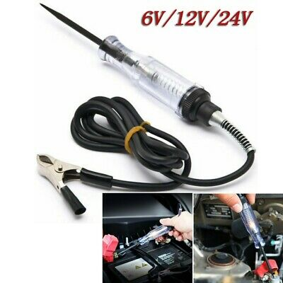Car Voltage Circuit Continuity Fuse Tester For 6V-24V Long Systems Probe Pen