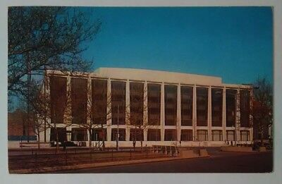 Vintage NEW YORK City Postcard Lincoln Center Performing Arts Amsterdam Ave