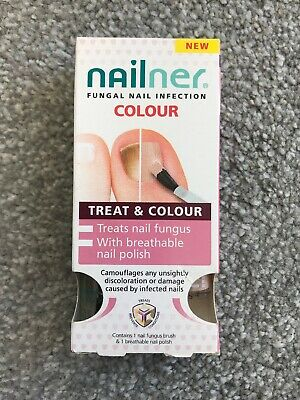 NAILNER Brush Nail Fungus Anti Fungal Infection Treatment 5ml 2 IN 1