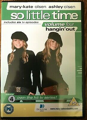 So Little Tiempo Vol.4 DVD Mary-Kate & Ashley Olsen Gemelos Niña Teen TV Series