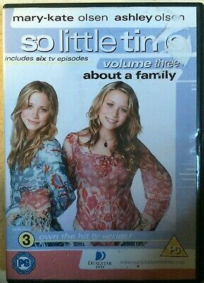 So Little Tiempo Vol.3 DVD Mary-Kate & Ashley Olsen Gemelos Niña Teen TV Series
