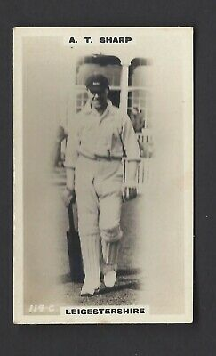 Phillips - Cricketers (Brown) - #114C A T Sharp, Leicestershire