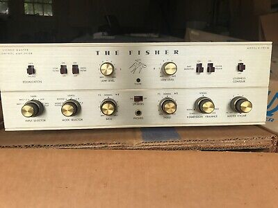 Vintage Fisher amplifier X-101-B