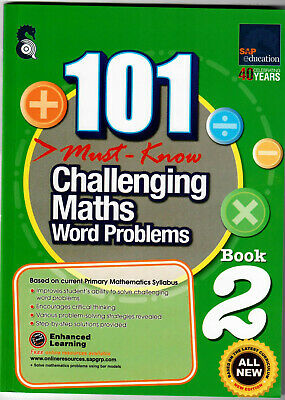 SAP Education 101 Must Know Challenging Maths Word Problems 2 - AU Year 2 Year 3