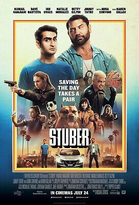 Stuber  27x40 Original Theater Double Sided Movie Poster
