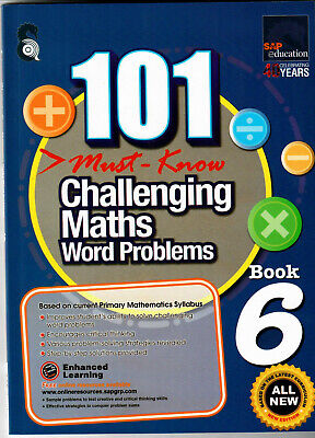 SAP Education 101 Must Know Challenging Maths Word Problems 6 - AU Year 6 Year 7