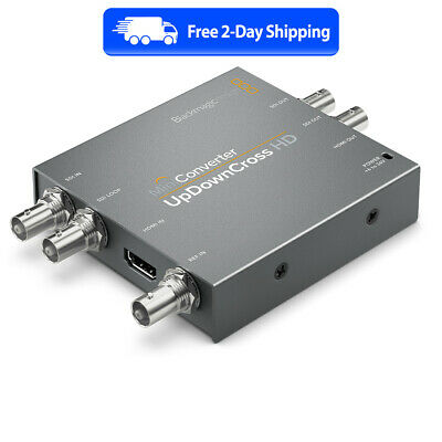 Blackmagic Mini Converter - UpDownCross HD - New - Free 2 Day Shipping