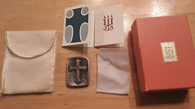 Vintage Signed James Avery Sterling Silver Cross
