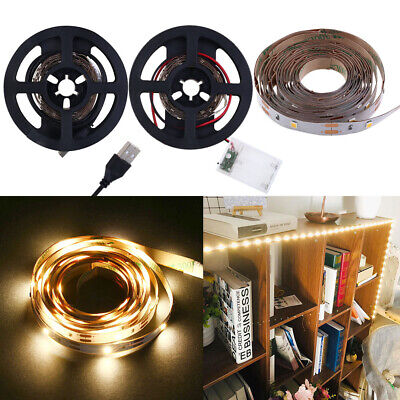 Ruban Bande De Lumière LED Strip 60LEDs USB Éclairage de Fond TV Flexible Decor