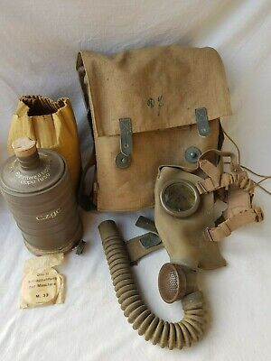 Maschera antigas m33 Regio Esercito 1933 Gas mask m33 Royal army ww2
