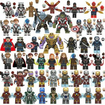 Lego Avengers Minifigures 999+ Marvel DC Thor Infinity War End Game Super Heroes