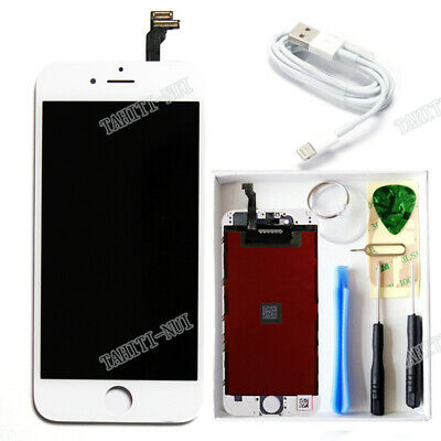 LCD Display Touch Screen Digitizer Assembly Replacement White for iPhone 6 OEM