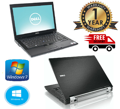 "CHEAP Dell Latitude E6400 Laptop 14.1"" Core2Duo 4GB RAM 500GB Wi-Fi WINDOWS 7/10"