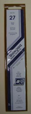 Showgard size 27 black hingeless stamp mount NEW unopened pack 1st quality 215mm