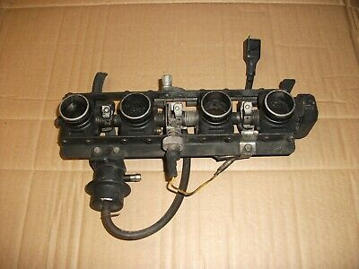 Kawasaki GPZ1100B1 Throttle Bodies 1981