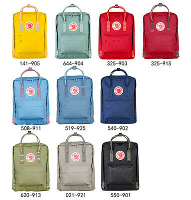 7L/16L/20L Fjallraven Kanken Backpack Art Canvas Sport Shoulder Bag Handbag