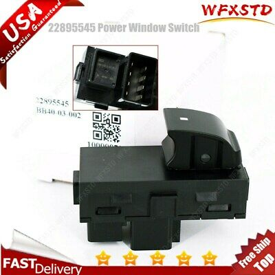 OEM Power Window Switch Front Rear Right Passenger 25877776 For Chevy Truck SUV