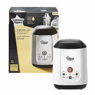 Tommee Tippee Express and Go Bottle and Pouch Warmer BPA Free - New & Sealed
