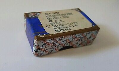 """Box Of Unopened Vintage Spencerian No1 Nibs """"Made In England"""" NOS!!!"""