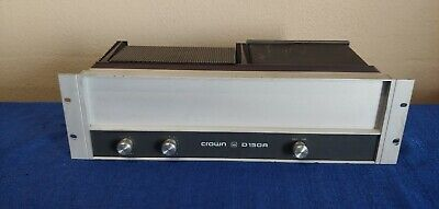 Crown D150A Stereo 2 channel power amplifier vintage